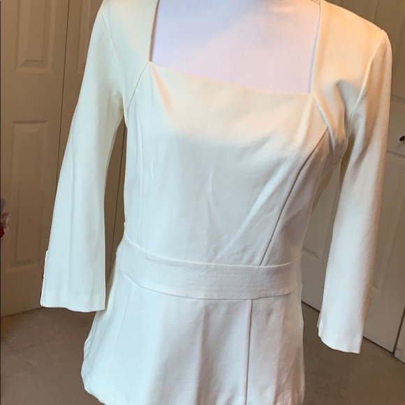 White House Black Market Tops - NWT WHBM Peplum Top